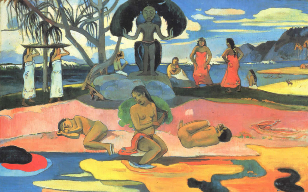 Paul-Gauguin Day-of-the-God