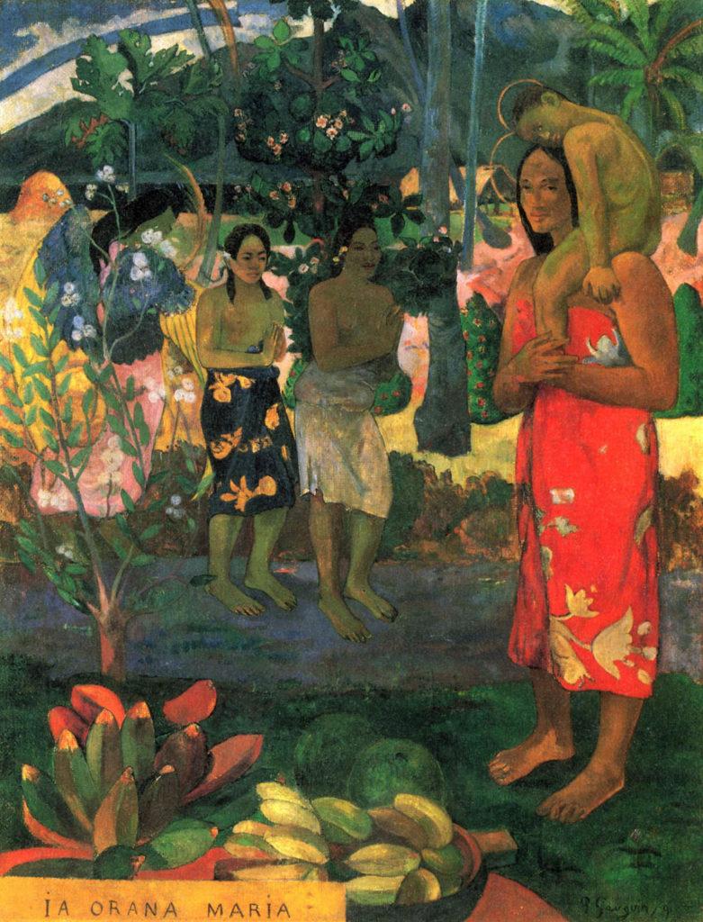 Paul-Gauguin La Orana Maria.
