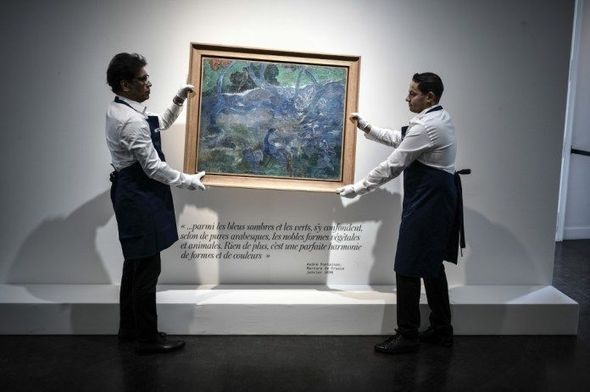 Paul Gauguin painting was sold for 9,5 mn euro in Paris auction