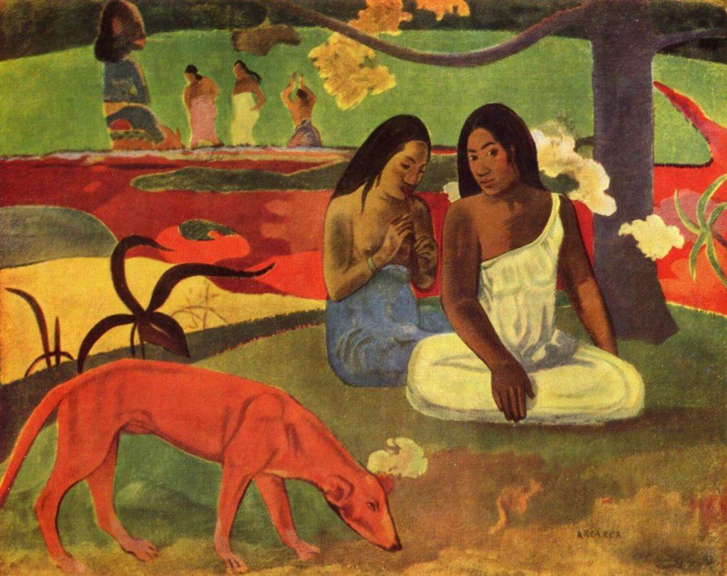 Paul-Gauguin mischievous joke