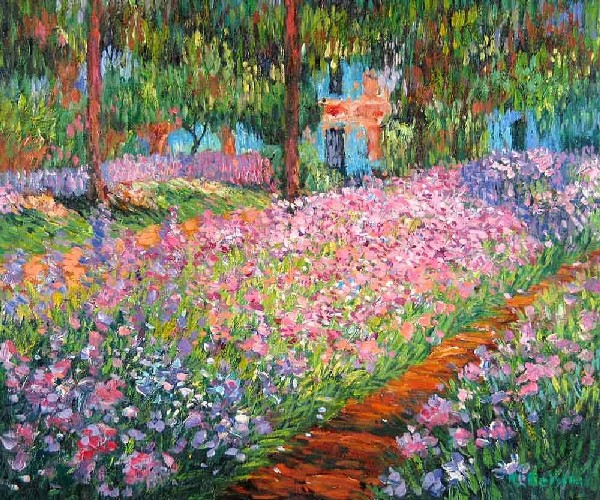 Claude-Monet-The-Garden-of-Monet