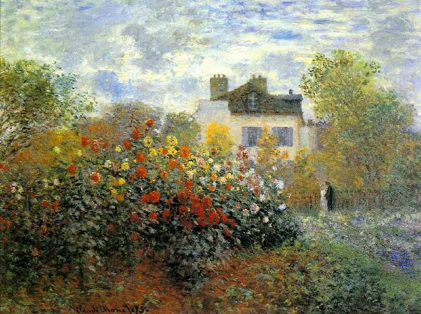 Claude-Monet-The-Garden-of-Monet-at-Argenteuil-1873