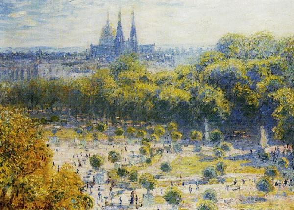 Claude Monet Tuileries garden