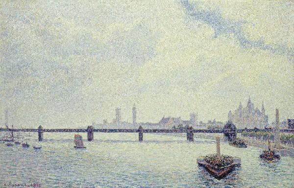 Charing Cross bridge in London