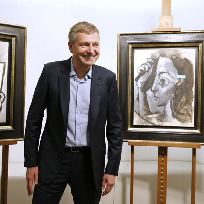 Dmitry Rybolovlev sells a multimillion-dollar collection of paintings at a loss