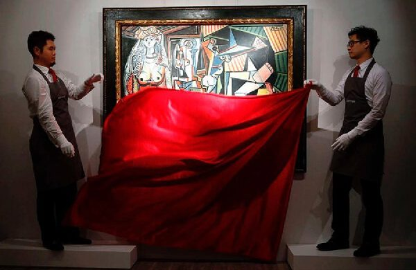 Most expensive painting in the world (115-187 million$) Top 5