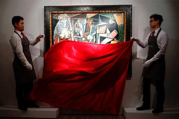 Most expensive painting in the world (165-187 million$) Top 5