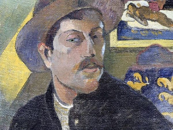 Paul Gauguin fled from civilization to a bright paint