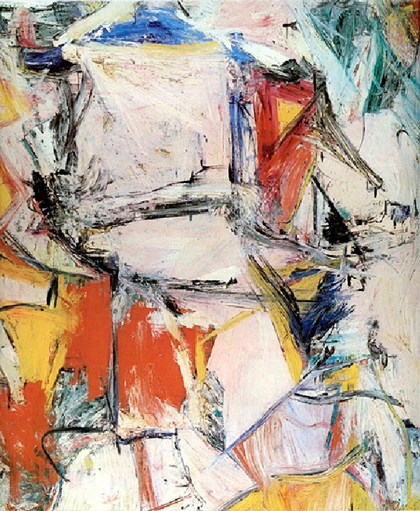 Willem de Kooning Interchange 1955