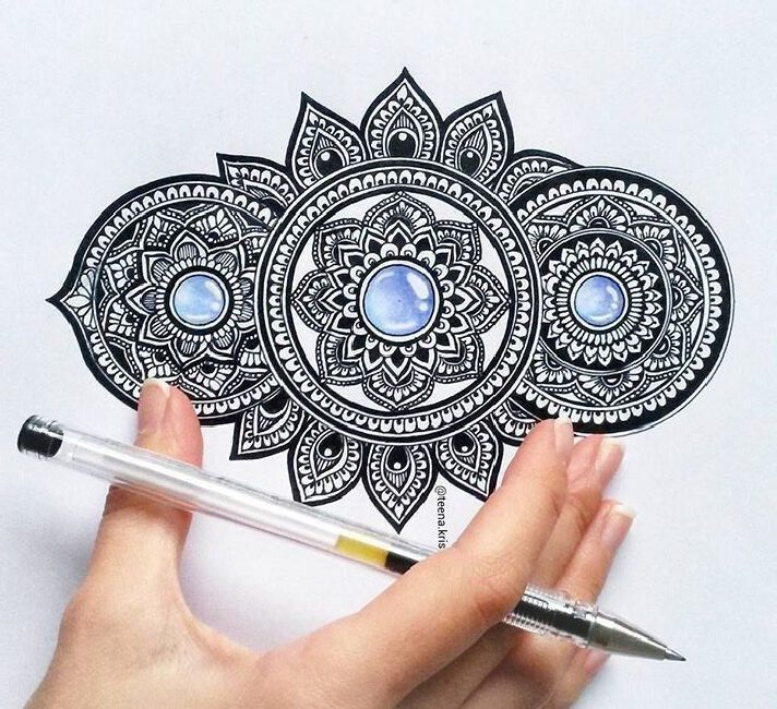 Zentangle Doodle Mandala what is difference?